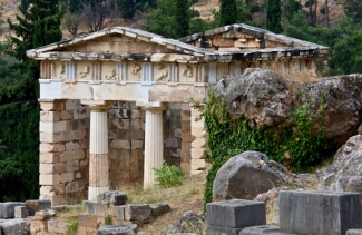 Delphi, ancient of days