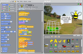 Scratch is a visual programming aid designed for kids