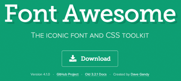 Font awesome really is awesome