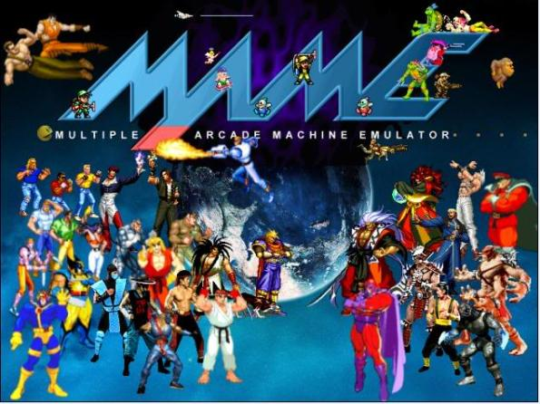 Play thousands of titles, nintendo, arcade, sega, psx on MAME