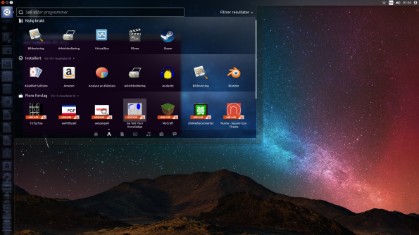 The Ubuntu start/search button has everything you need