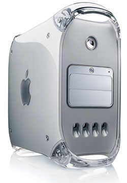 The G4 PPC Mac, you must admit that it's a sexy piece of machinery
