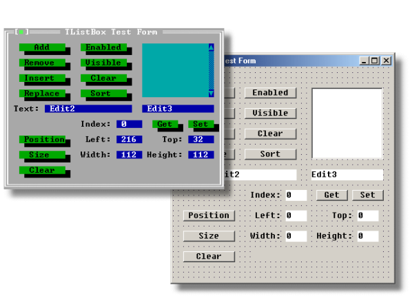 Delphi for DOS, works like a charm
