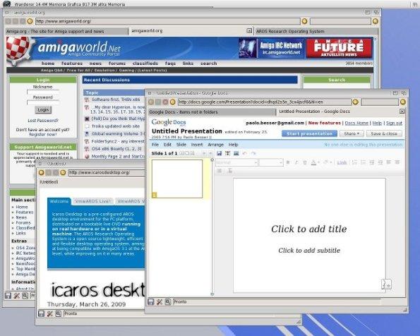 Aros is more than a capable desktop environment