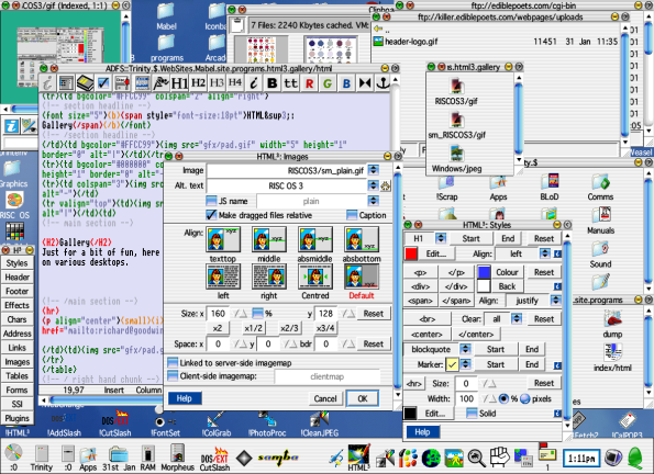 RISC OS in all its.. eh, glory