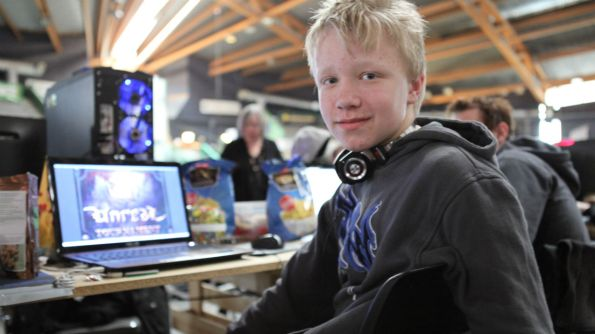 Young hackers learn to think outside the box