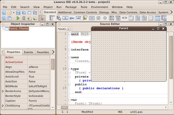 Freepascal running on Ubuntu