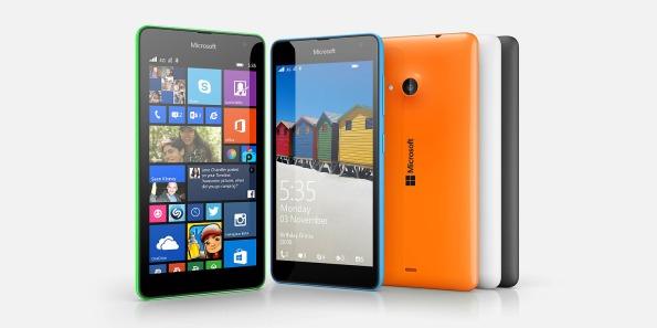 Microsoft Lumia in all it's squareness