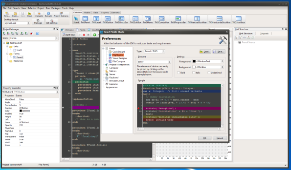 Personalize the IDE just the way you want it