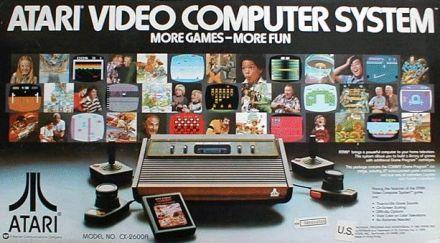 The Atari 2600, over 30 years old