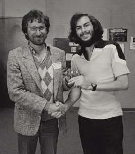 Howard and Steven Spielberg, roughly  6 weeks before deadline