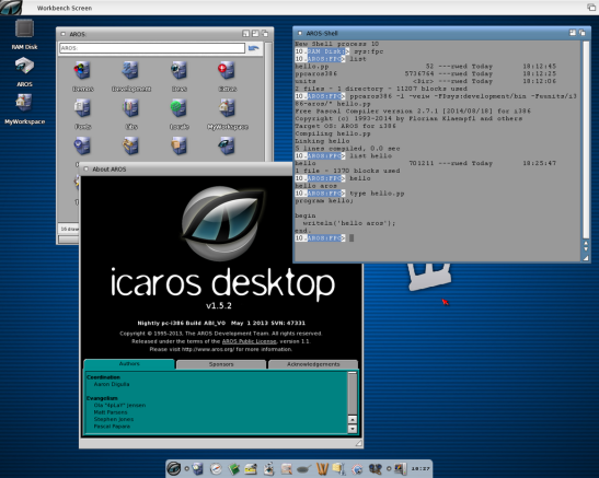 Want software? No problem. Get FPC installed and give it here!