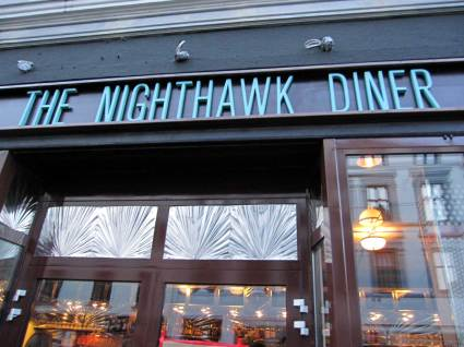 Best lunch in town, the nighthawk diner