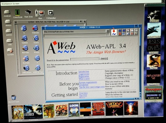 Classic Amiga Workbench