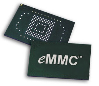 EMMC is cheap and easily available