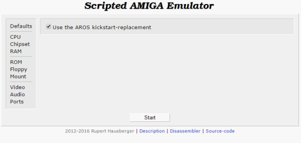 The Scriptable Amiga Emulator is excellent to check if your program runs on the Aros Rom. Just upload and run.