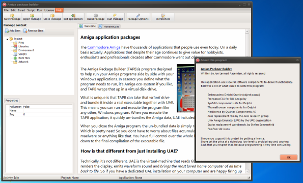 The Amiga Package Builder is a step in the right direction