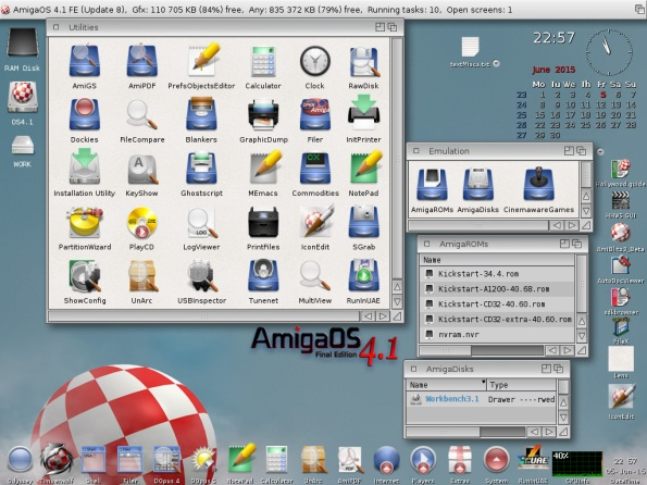 Sexy, fast and modern: Amiga OS 4.1