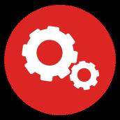 02237439ec5958f6ec7362f726a94696-cogwheels-red-circle-icon-by-vexels