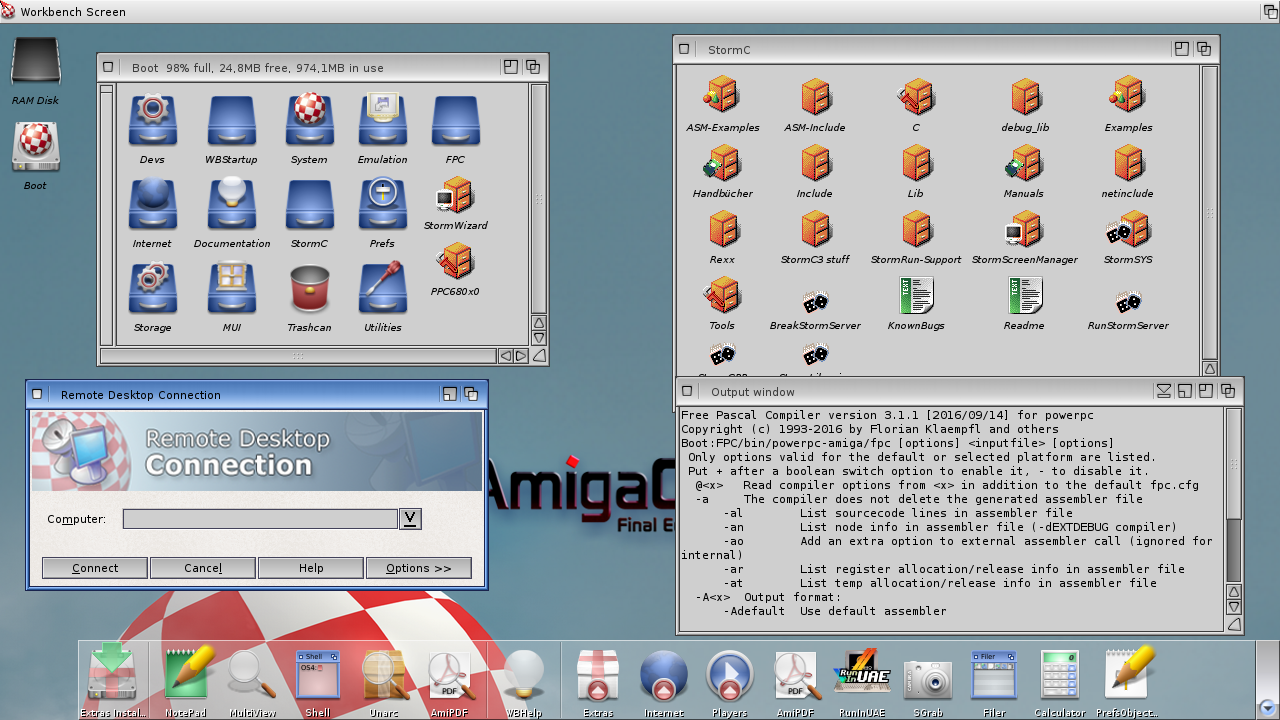 Amiga OS 4, object pascal and everything | Jon L  Aasenden