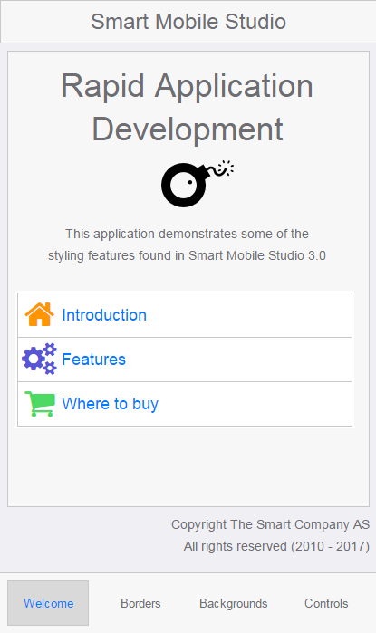 Smart mobile studio jon l aasenden so it started as a personal application just to get a good overview of the css themes i was working on but it has become an example in its own right malvernweather Choice Image